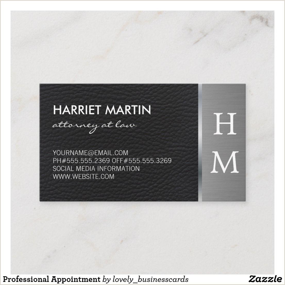 Unique Entrepreneur Business Cards Professional Appointment Zazzle
