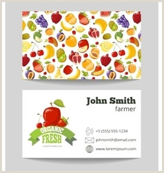 Unique Farm Business Cards Agriculture Business Card Vector Over 1 700
