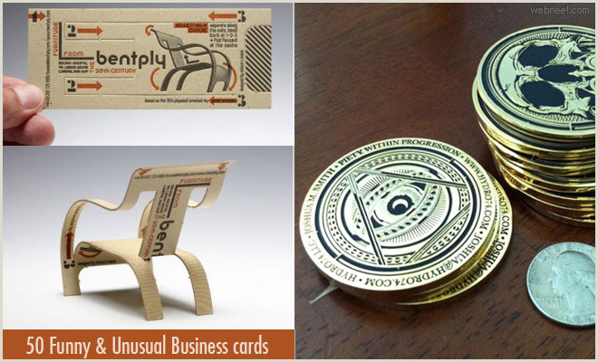 Unique Graphic Design Business Cards 50 Funny And Unusual Business Card Designs From Top Graphic