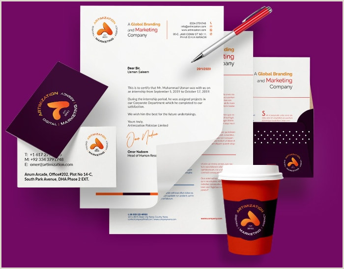 Unique Graphic Design Business Cards Stationery Design Services Packages & Price