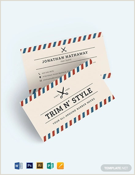 Unique Haircut Templates For Business Cards 42 Hair Stylist Business Card Templates Ai Psd Word