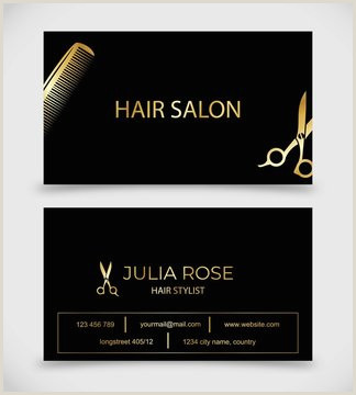 Unique Haircut Templates For Business Cards Hair Salon Business Card Photos Royalty Free Images