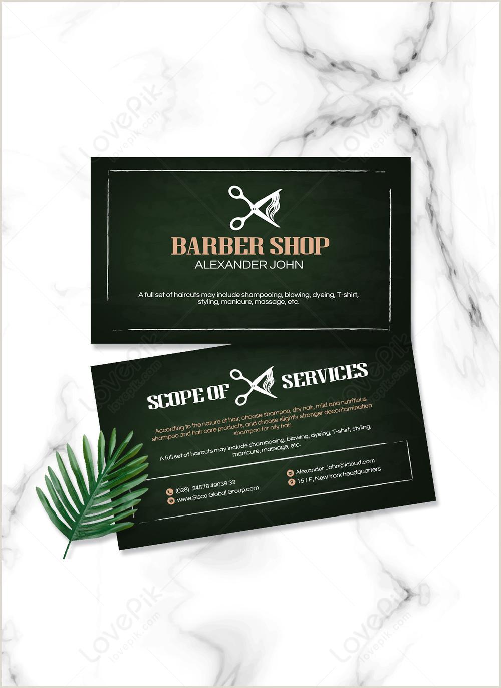 Unique Haircut Templates For Business Cards Haircut Hairline Line Creative Business Card Template