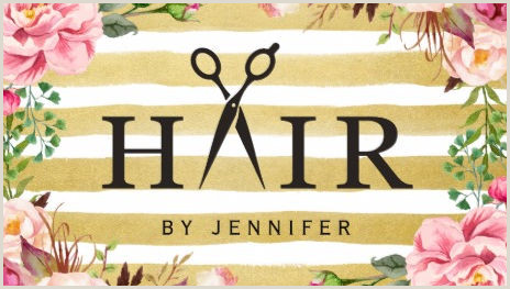 Unique Hairdresser Business Cards Girly Hair Salon Business Cards Page 1 Girly Business Cards
