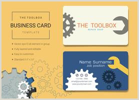 Unique Handyman Business Cards Handyman Business Name Card Design Template Download Free