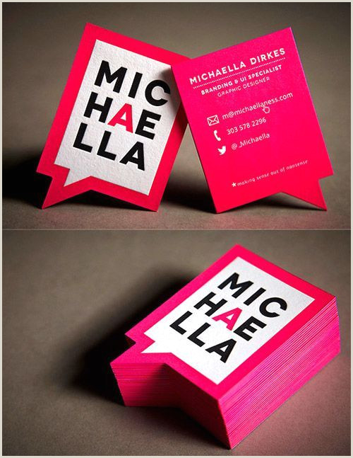 Unique Homepathic Personal Business Cards A Collection Attention Grabbing Neon Business Cards