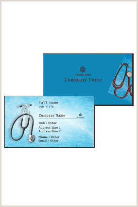 Unique Homepathic Personal Business Cards Doctor Visiting Card Design Line
