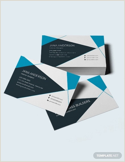 Unique Interior Design Business Cards 21 Interior Design Business Card Templates Ai Ms Word
