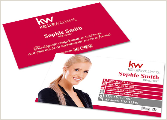 Unique Keller Williams Business Cards Keller Williams Business Cards