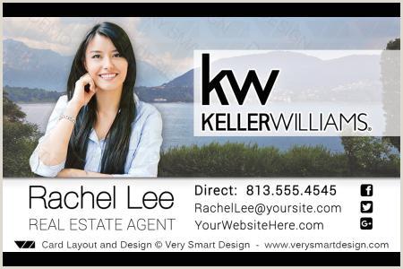 Unique Keller Williams Business Cards Kw Agent Real Estate Business Cards Keller Williams Design