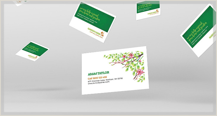 Unique Landscaping Business Cards Ideas 15 Landscaping Business Card Templates Word Psd