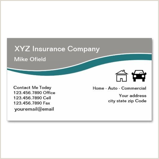 Unique Life Insurance Business Cards Samples Multi Line Insurance Agent Business Card