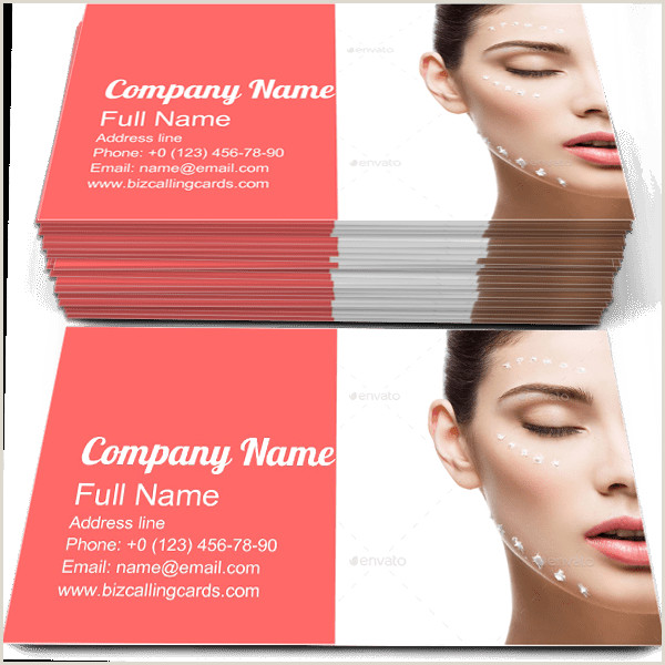 Unique Makeup Business Cards ✅ Business Card Examples For Create Custom Design