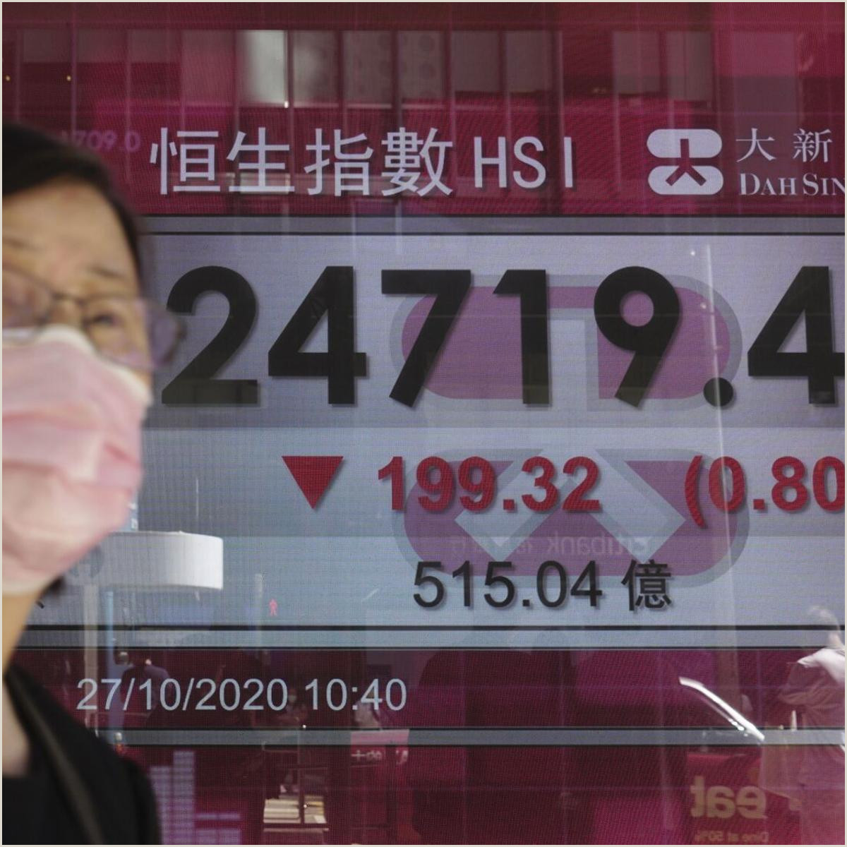 Unique Makeup Business Cards Asian Shares Slip After Wall St S Worst Day In A Month