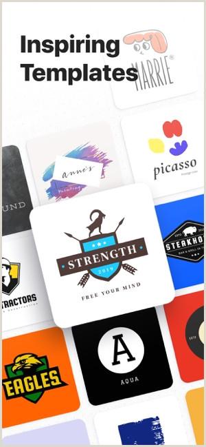Unique Makeup Business Cards Logo Maker Shop On The App Store