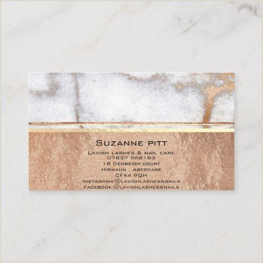 Unique Makeup Business Cards Marble By Design Co Uk
