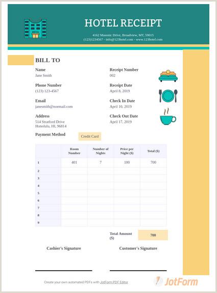 Unique Makeup Business Cards Taxi Receipt Template Pdf Templates