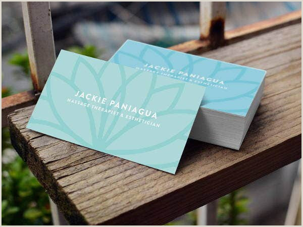 Unique Massage Business Cards 10 Massage Business Card Templates In Word Pages Psd
