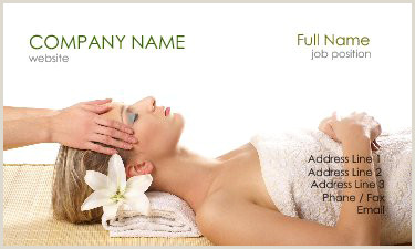 Unique Massage Business Cards 20 Relaxing Spa And Massage Business Card Designs