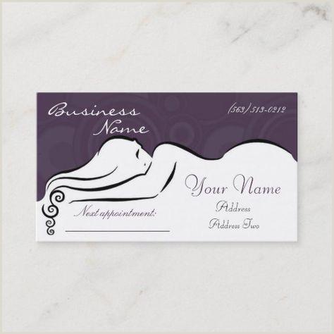 Unique Massage Business Cards 300 Best Massage Business Cards Images In 2020