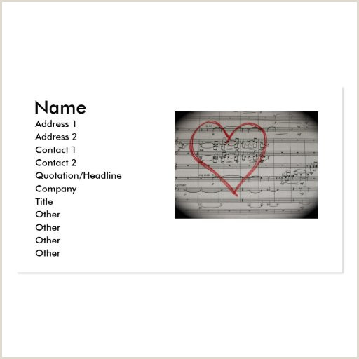 Unique Music Business Cards Music Business Card Templates Page7