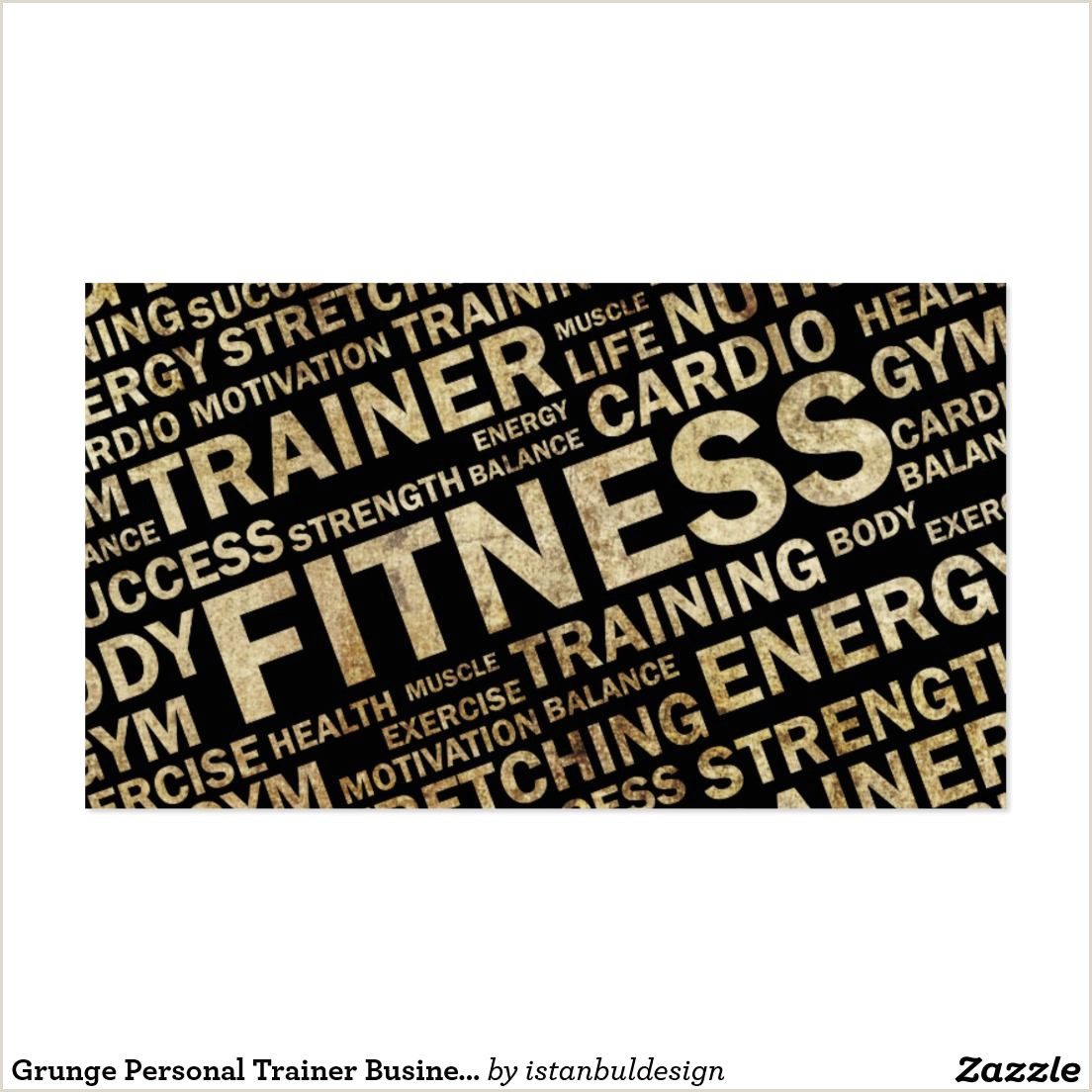 Unique Personal Trainer Business Cards 200 Best Fitness Business Cards Images