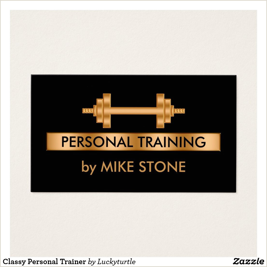 Unique Personal Trainer Business Cards Classy Personal Trainer Business Card