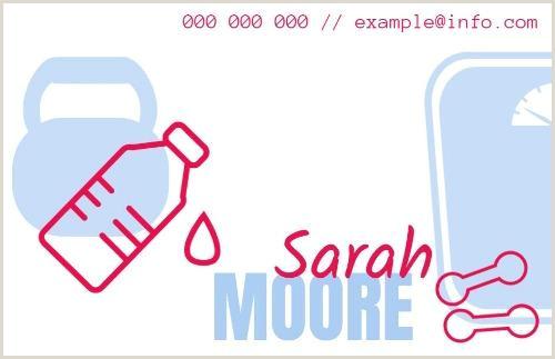 Unique Personal Trainer Business Cards Personal Trainer Business Cards Design Yours In Seconds