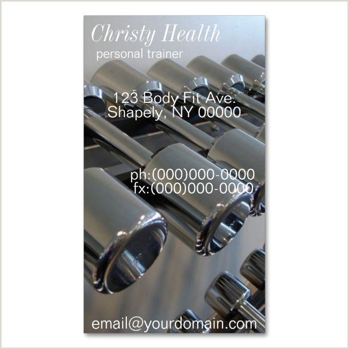 Unique Personal Trainer Business Cards Personal Trainer Business Cards Make Your Own Business Card