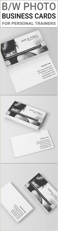 Unique Personal Trainer Business Cards Personal Training Business Cards