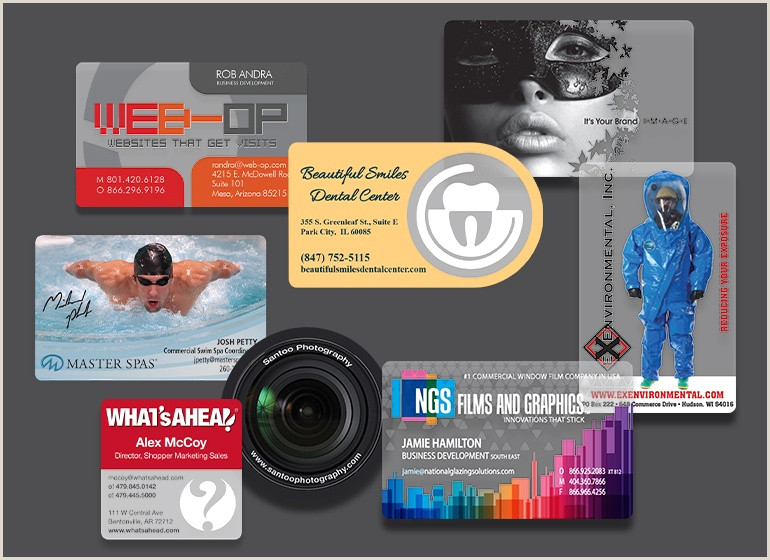 Unique Photobooth Business Cards Custom Booth Cards