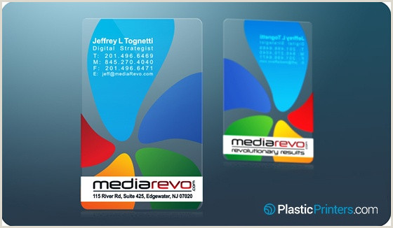 Unique Plastic Business Cards 20 Killer Plastic Business Card Designs