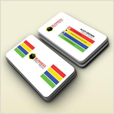 Unique Plastic Business Cards 20pt Solid Color Plastic Business Cards
