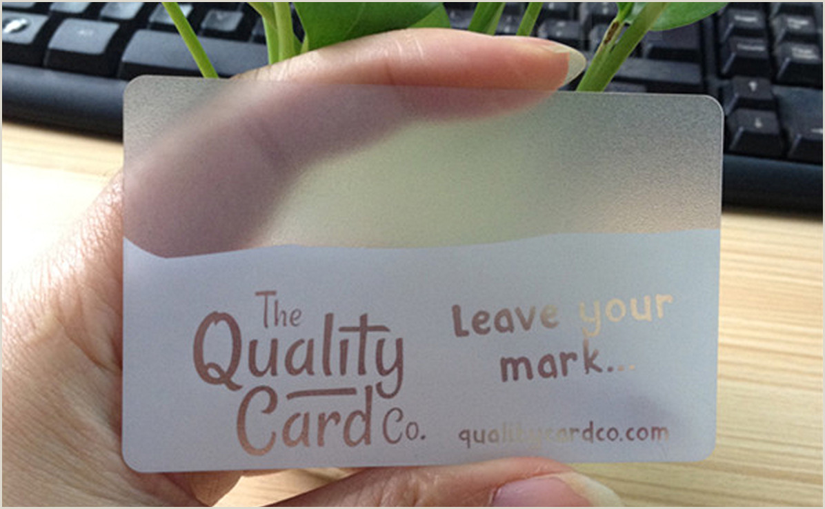 Unique Plastic Business Cards For Cpr Business 20 Wonderful Examples Of Plastic Business Card Designs