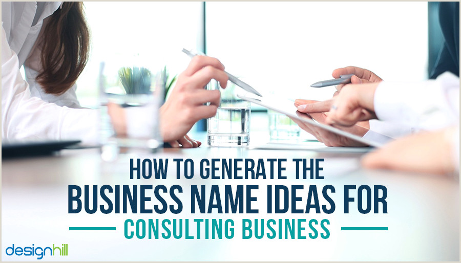 Unique Politcal Business Cards How To Generate The Business Name Ideas For Consulting