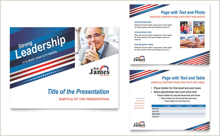 Unique Political Business Cards Political Campaign Business Card & Letterhead Template Design