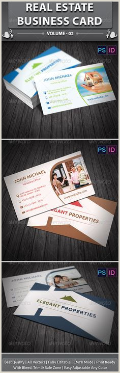 Unique Real Estate Agent Business Cards 60 Best Real Estate Agent Card Examples Images