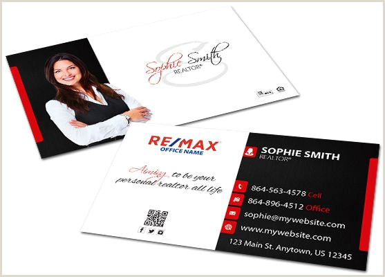 Unique Realtor Business Cards Remax Business Cards 23