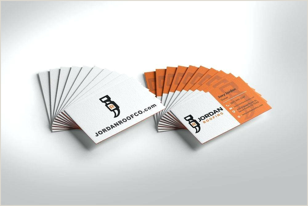 Unique Roofing Business Cards Roofing Business Cards 11 Examples To Inspire You & 3 Free
