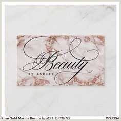 Unique Rose Gold Business Cards 20 Trendy Chic Business Cards Images In 2020