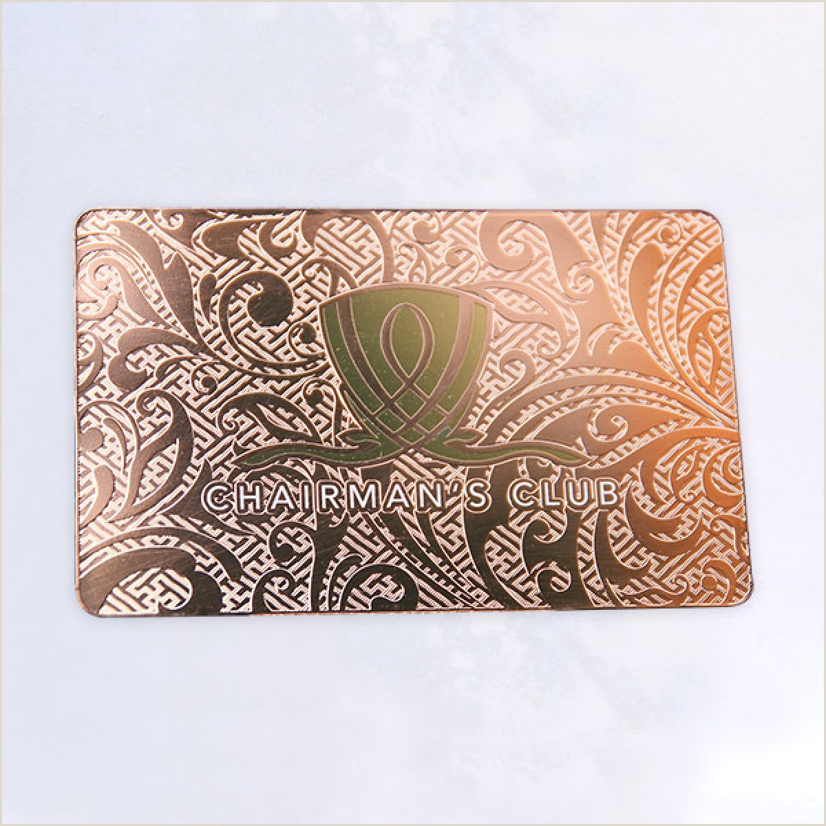 Unique Rose Gold Business Cards Rose Gold Luxury Metal Unusual Business Cards