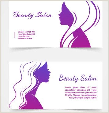 Unique Salon Business Cards Beauty Salon Business Card Free Vector 32 426 Free