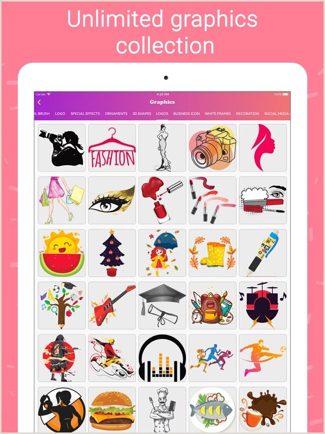 Unique Salon Business Cards Business Card Maker Creator On The App Store