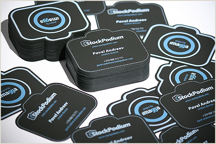 Unique Shaped Business Cards 50 Bizarre & Brilliant Business Card Designs