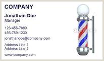Unique Shaped Business Cards Barber Pole 10 Best Barber Business Cards Images