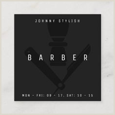 Unique Shaped Business Cards Barber Pole 200 Barber Business Cards Ideas In 2020