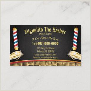 Unique Shaped Business Cards Barber Pole Barber Pole Business Cards Business Card Printing