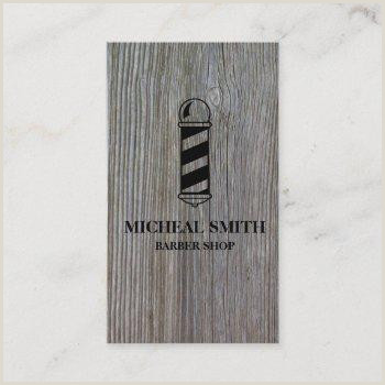 Unique Shaped Business Cards Barber Pole Barbers Pole Business Cards