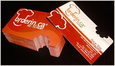 Unique Shaped Business Cards Ticket Tear Off 24 Creative Die Cut Business Cards