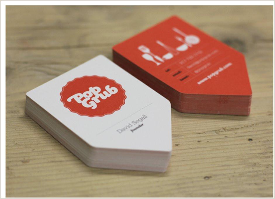 Unique Shaped Business Cards Ticket Tear Off 50 Bizarre & Brilliant Business Card Designs